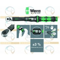 """WERA 1/2"""" SD TORQUE WRENCH WITH REVERSIBLE RATCHET 10-50NM CLICK TORQUE C 1"""