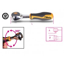 BETA BT900/58 1/4 DRIVE REVERSIBLE RATCHET WITH ROTATING HANDLE 009000884