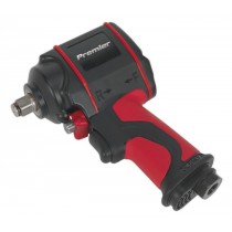 """AIR IMPACT WRENCH 1/2""""SQ DRIVE STUBBY TWIN HAMMER FROM SEALEY SA6002S SYD"""