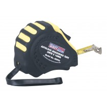 AUTOLOCK MEASURING TAPE 3MTR(10FT) X 16MM METRIC/AF FROM SEALEY AK993 SYSP