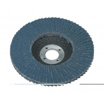 FLAP DISC ZIRCONIUM DIA.100MM 16MM BORE 80GRIT FROM SEALEY FD10080 SYSP