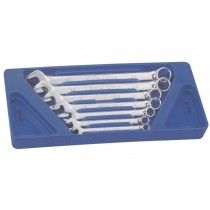7PC METRIC COMBINATION SPANNER SET 10-24MM FROM GENIUS TOOLS
