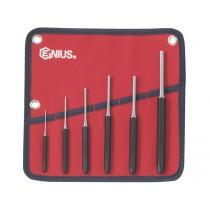 GENIUS TOOLS PC-566MP 6PC METRIC PIN PUNCH SET