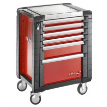 FACOM TOOLS JET.6M3 6 DRAWER RED ROLL CAB