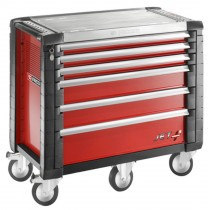 FACOM TOOLS JET.6M5 6 DRAWER RED ROLL CAB