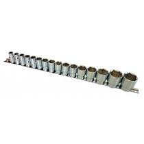 "1/2"" DRIVE SOCKET SET (6-POINT) SIZES 10-32MM FROM BRITOOL HALLMARK RANGE LHMSET1032"