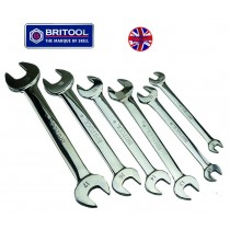 BRITOOL ENGLAND METRIC OPEN JAW SPANNER / WRENCH SET 8-19MM