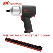 INGERSOLL RAND 2235QXPA 1/2 INCH IMPACT WRENCH 1760NM + FREE SOCKET SET